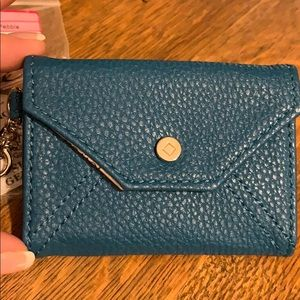 Thirty-one Teal Letters from London Id Holder